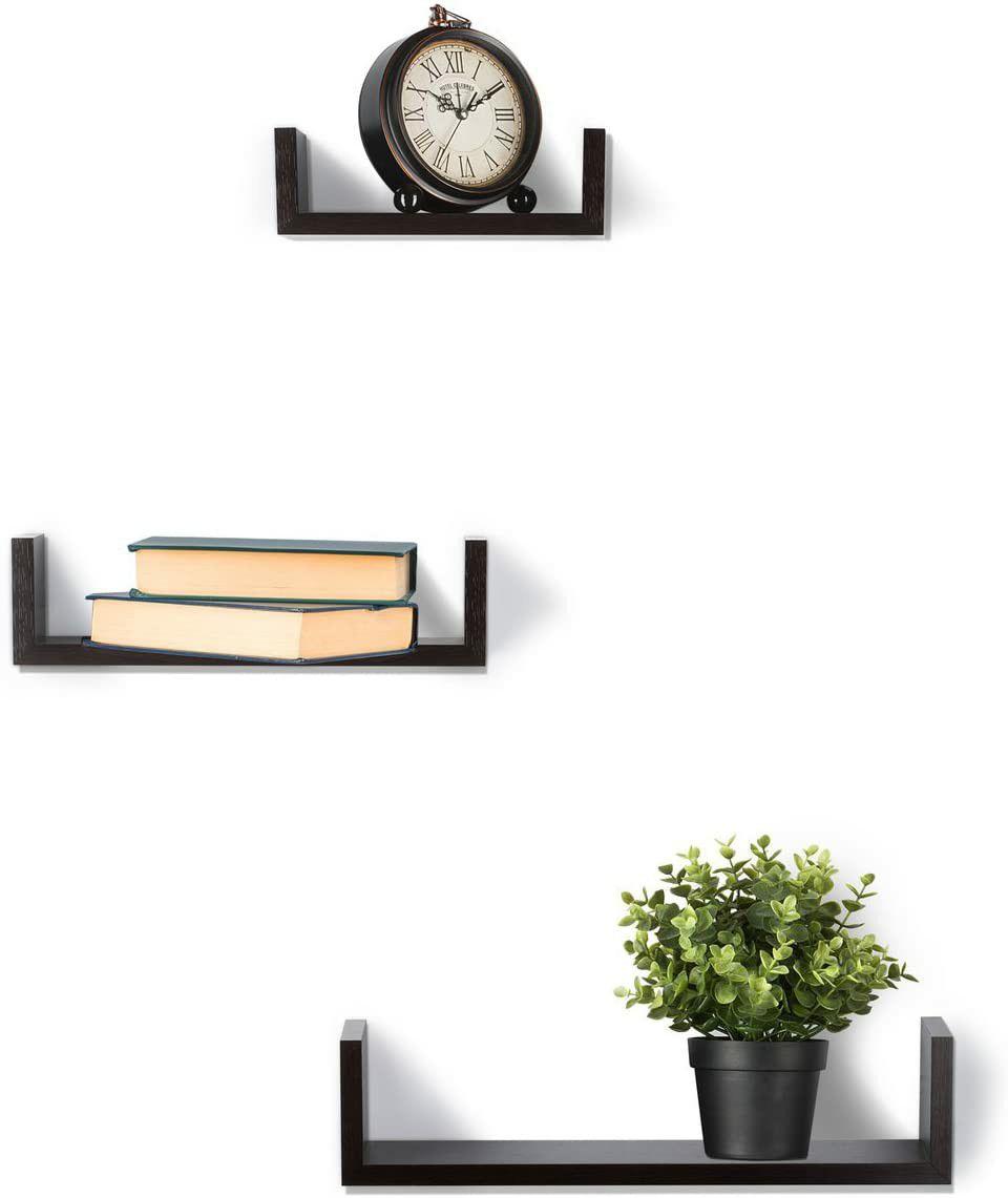 Floating Shelves Set of 3 Wall Shelves