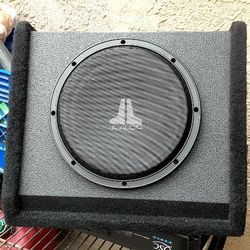 """Sub 10"""" Jl Audio 10w3v2-d2 Thumbnail"""