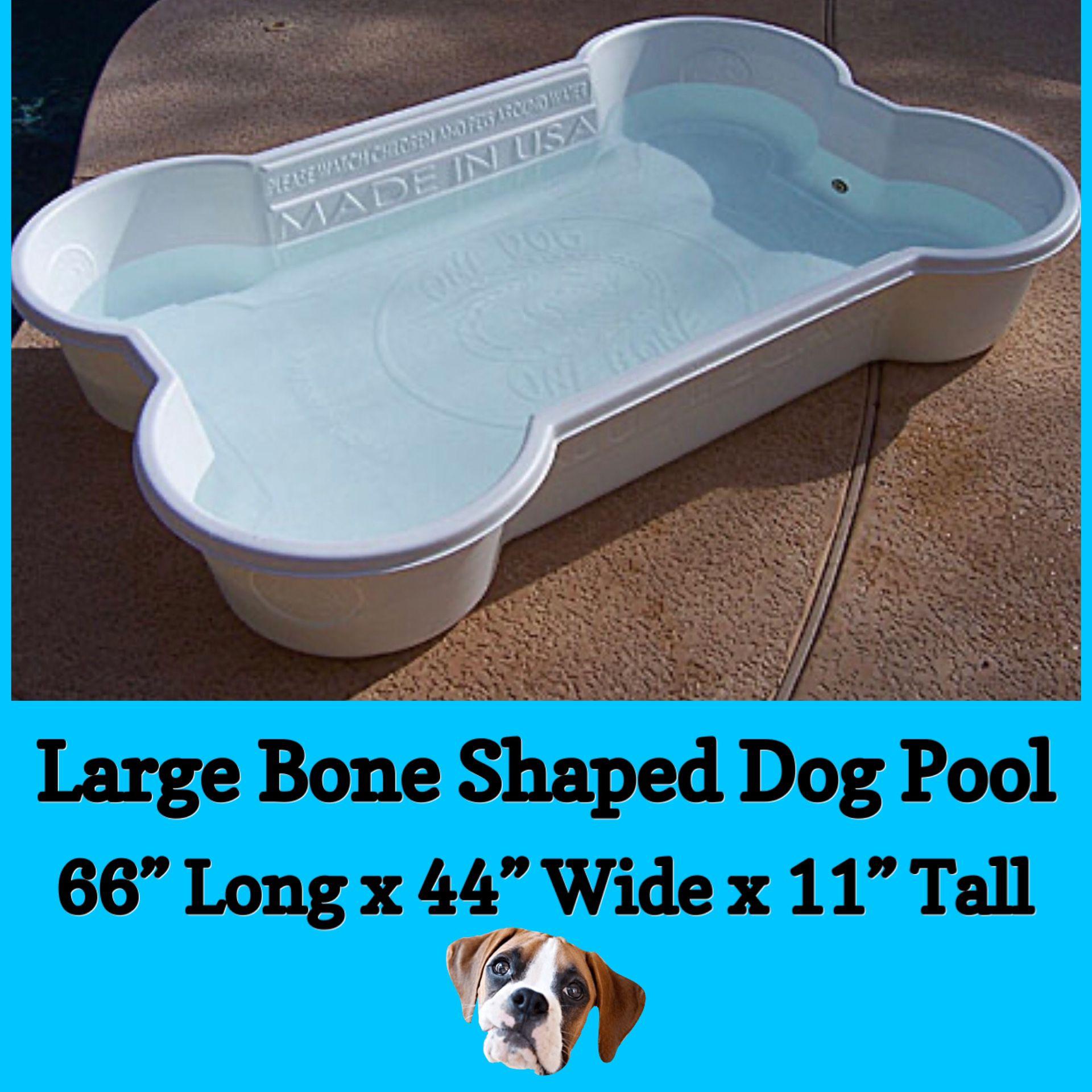 🦴 Large Bone Shaped Dog Pool