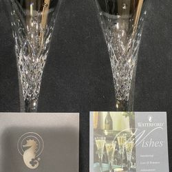 Waterford Crystal Toasting Flutes Thumbnail