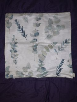 Greenery pillow case Thumbnail