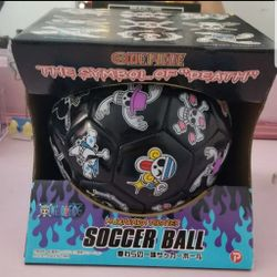 One piece anime soccer ball Thumbnail