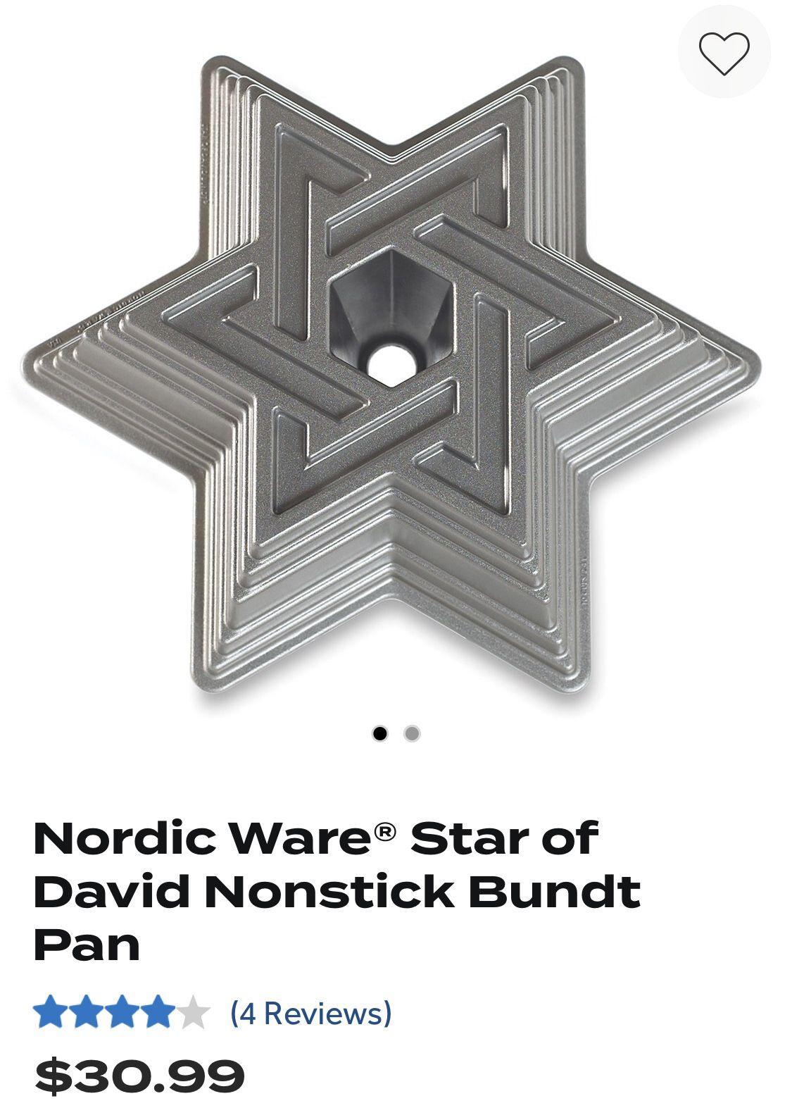 Star of David Bundt Pan