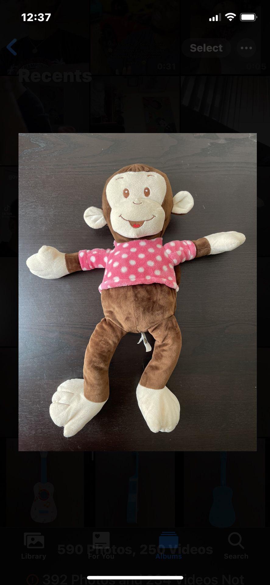 Monkey Plushy/stuffed Animal
