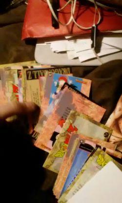 Dragonball z cards Thumbnail