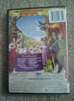 """SHREK THE THIRD DVD """"THE BIGGEST COMEDY OF THE YEAR!"""" NEW/ SEALED! Thumbnail"""