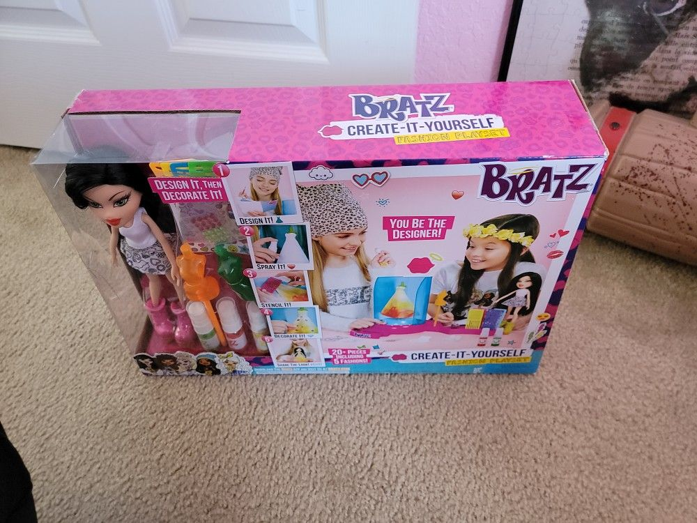 Brand New Never Opened BRATZ create your doll