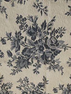 """Flower Pattern Blanket 108"""" X 96"""" - New  Thumbnail"""