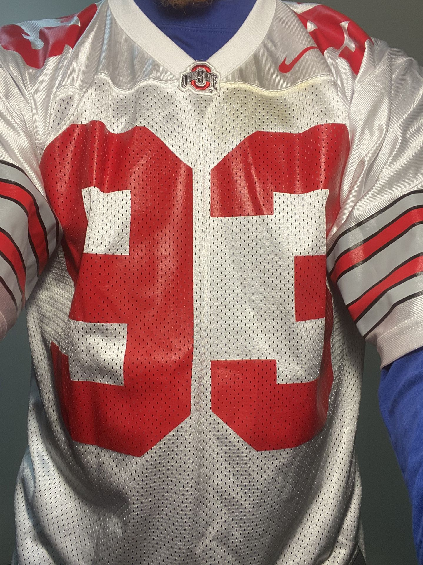 Nike Ohio State Jersey #93