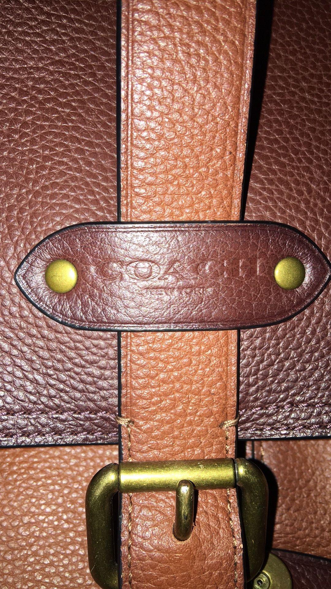 Coach Messenger/ Laptop Bag No#K1861-F50055