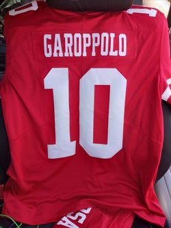 Genuine NFL San Francisco 49ers Jerseys (Bosa( M)) (Garoppolo (L)) Thumbnail