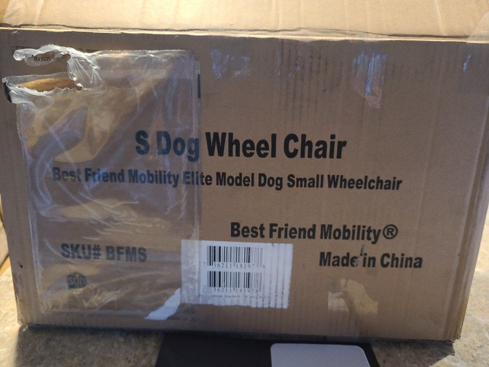 Small Dog Rear Support Wheel Chair