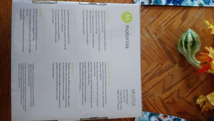 Motorola MG7315 router modem Thumbnail