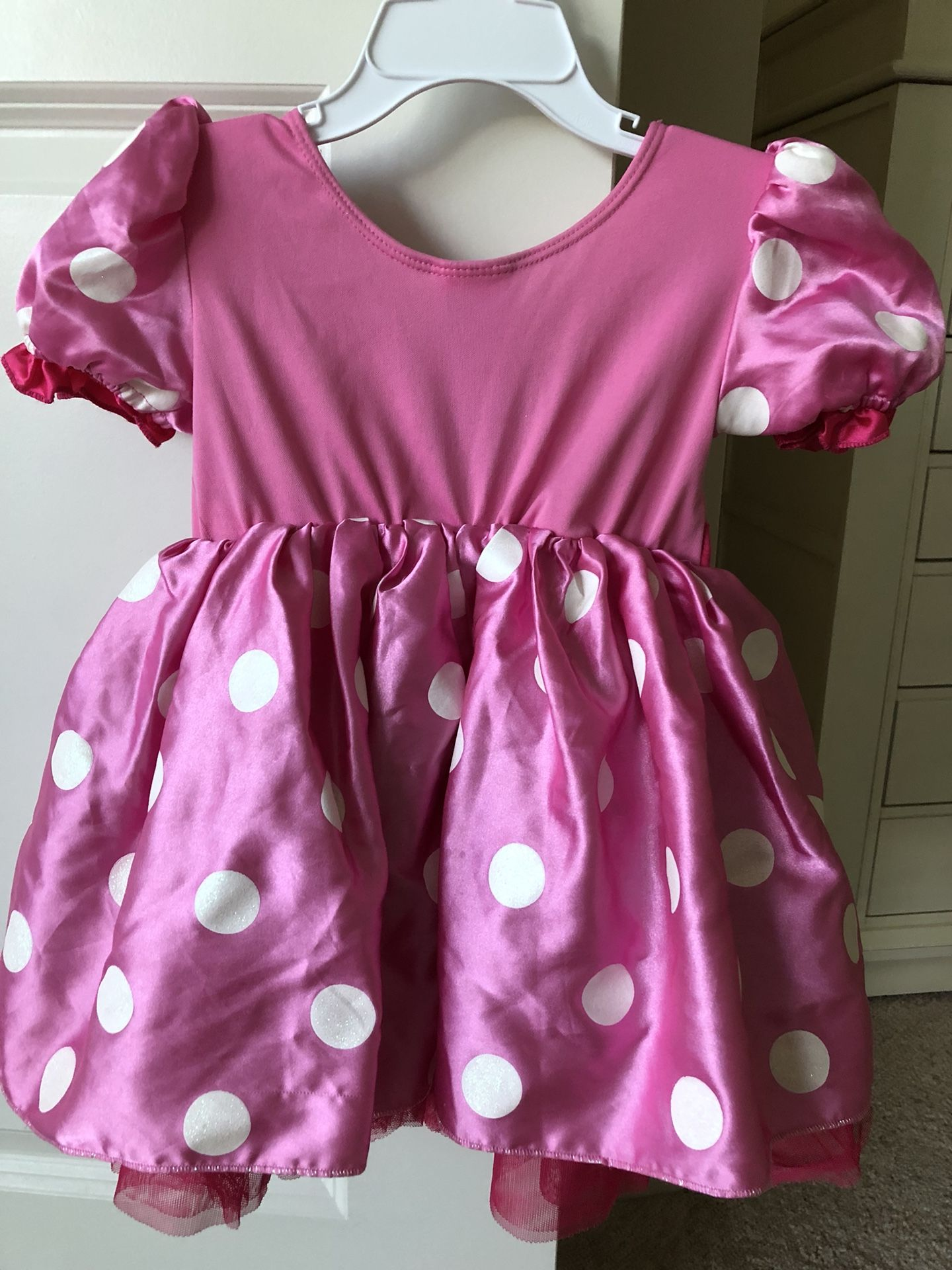 Disney Minnie Mouse costume dress with ears