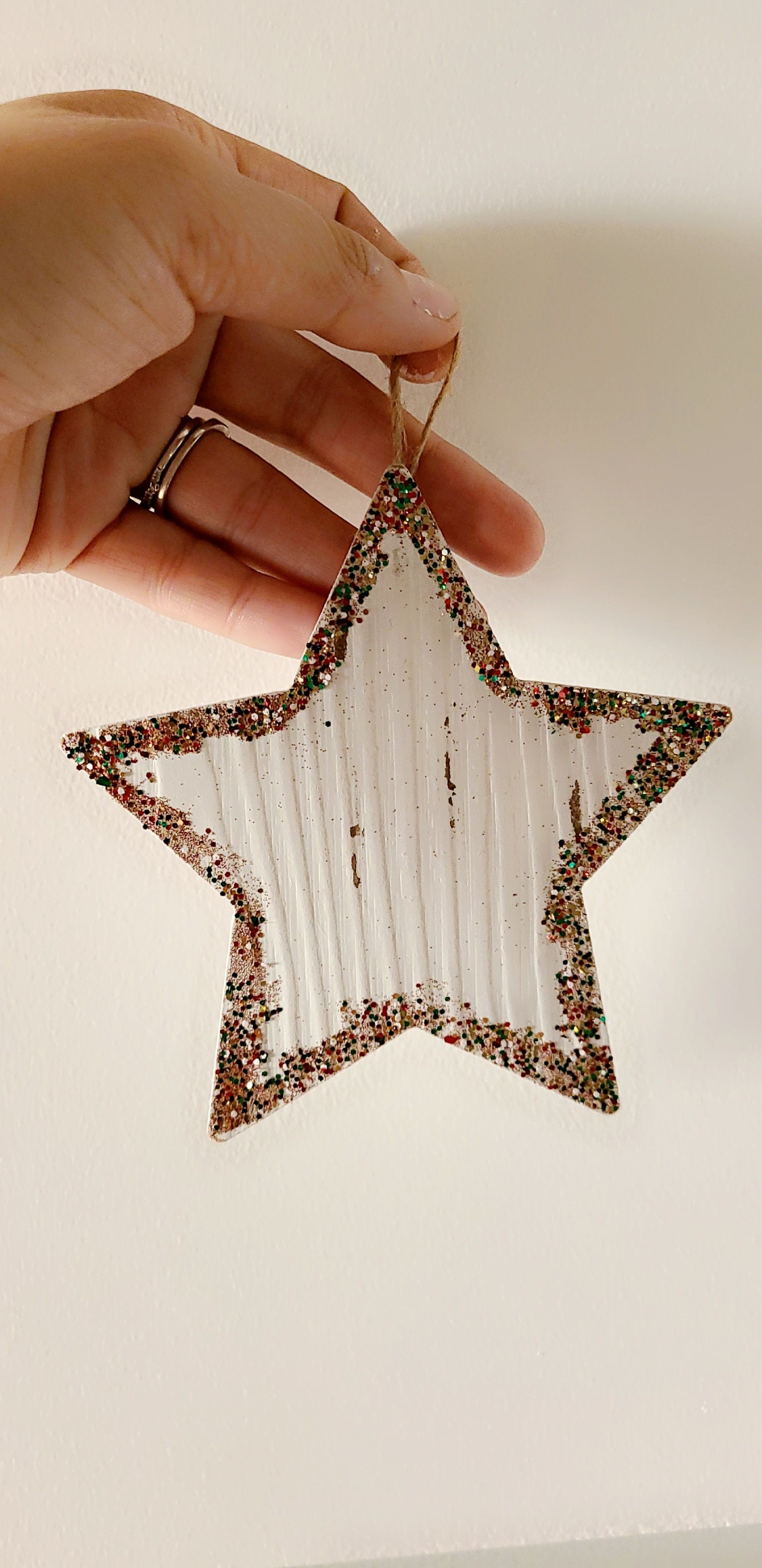 Hand made glass ornaments