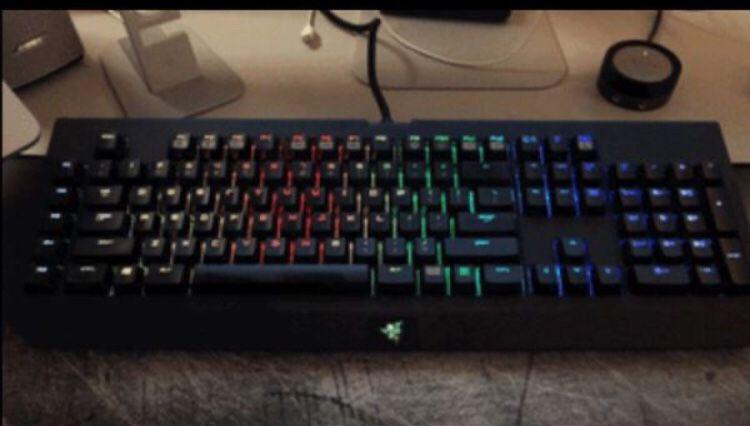 Razor keyboard