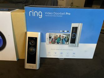 Ring Doorbell Pro, Nest Thermostat (3rd gen), Nest Outdoor Cameras Thumbnail
