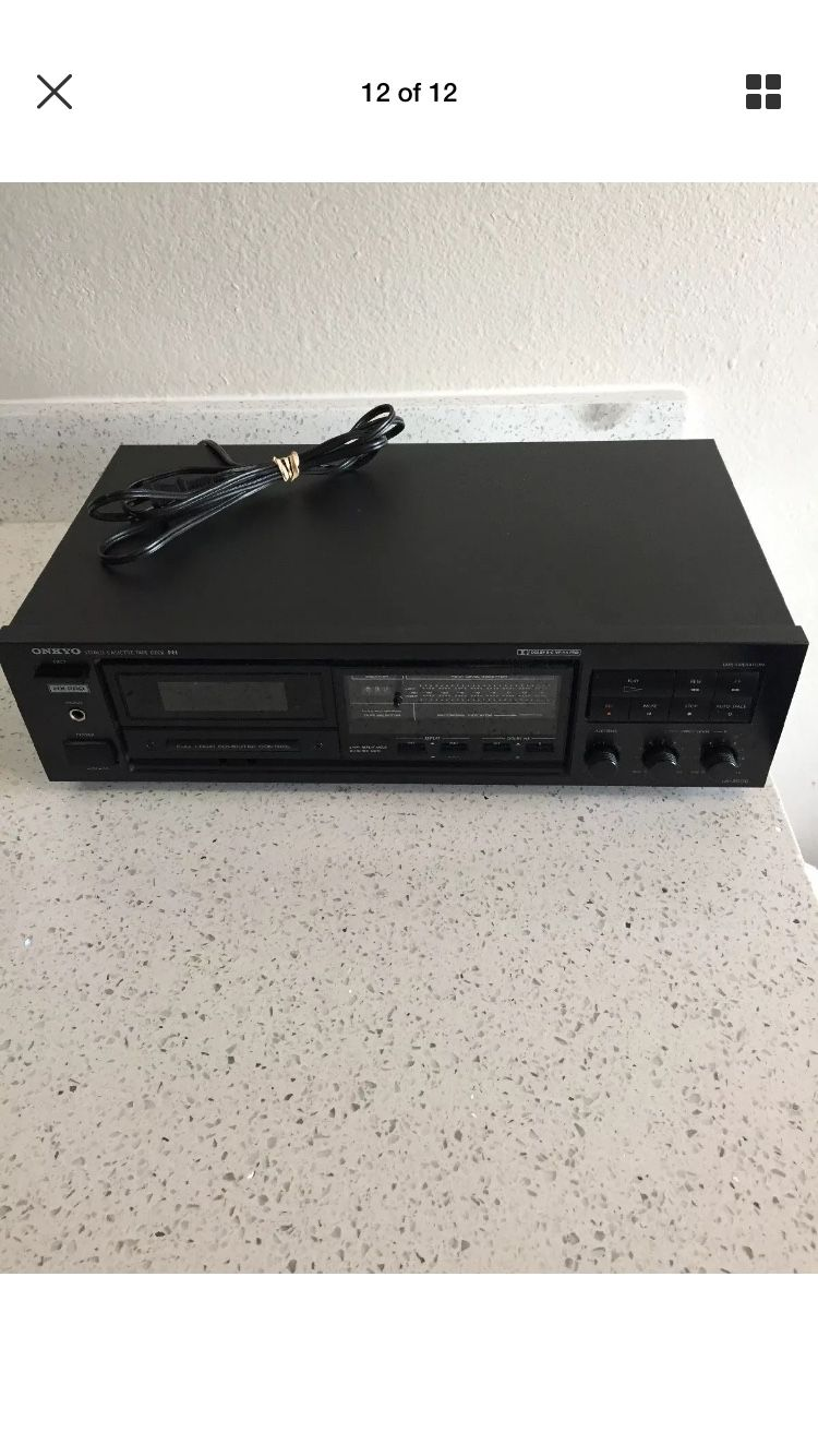 Vintage onkyo TA-2000 stereo cosset deck recorder/ player he pro Dolby