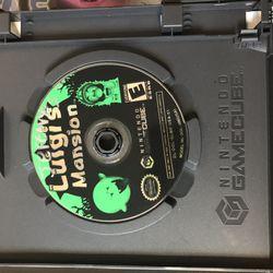 GameCube Games Mario Kart Luigis Mansion Thumbnail