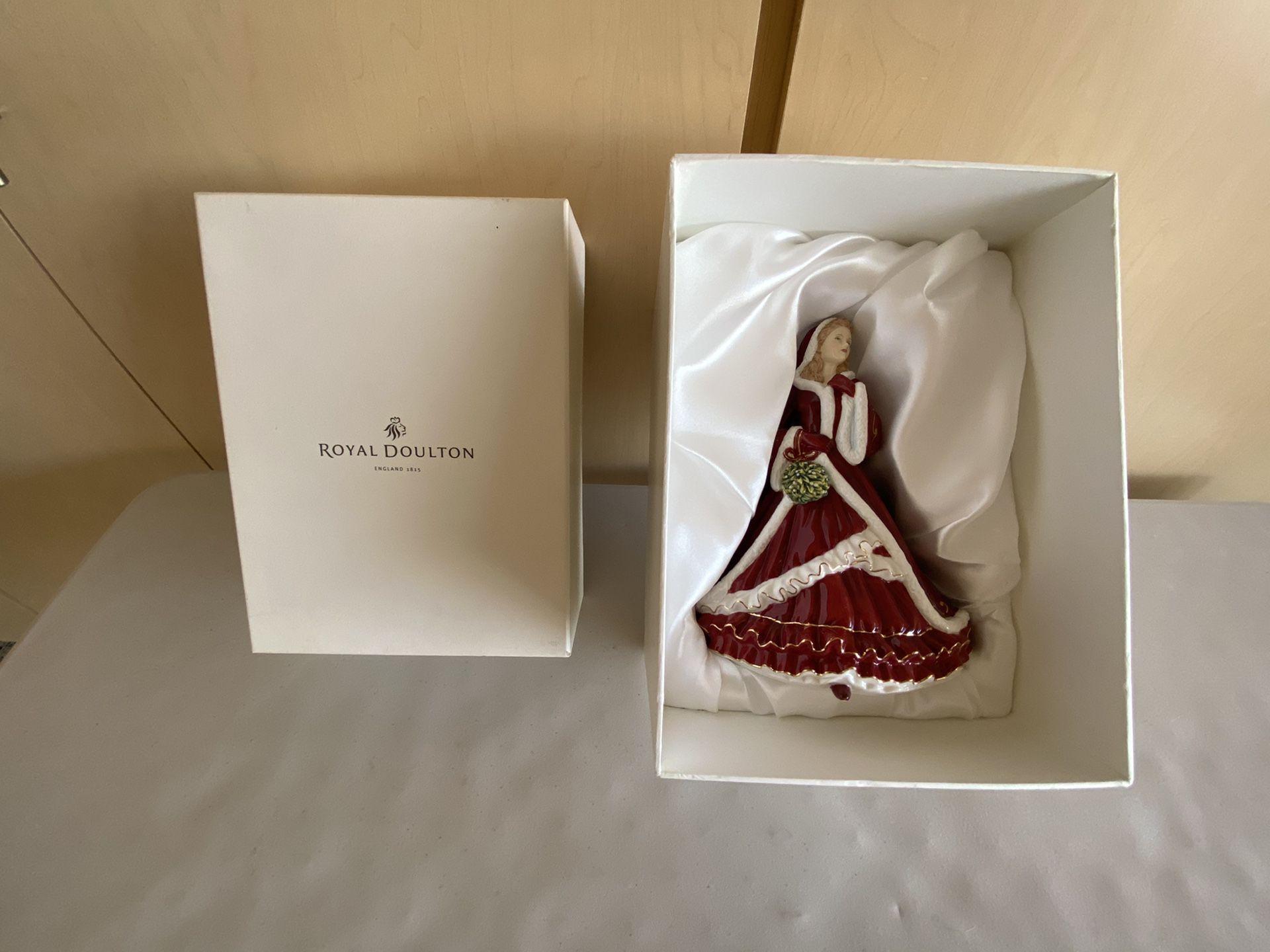 Royal Doulton Christmas 🎄 Doll