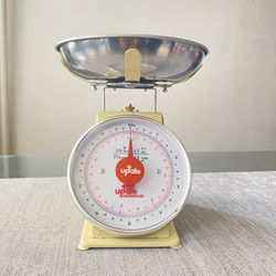 """Update UP-710T 7"""" Fixed Dial Scale - 10 lb Capacity, 1 oz Graduations Thumbnail"""