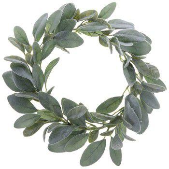 Set of 3 mini burlap wreaths