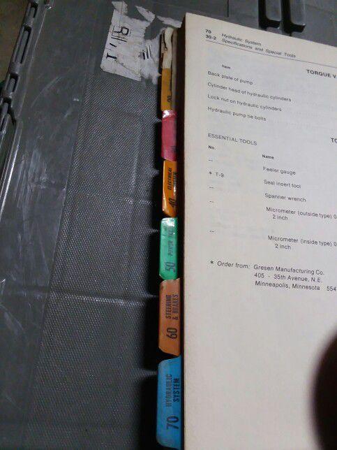 John Deer Manual 70 skid Steer