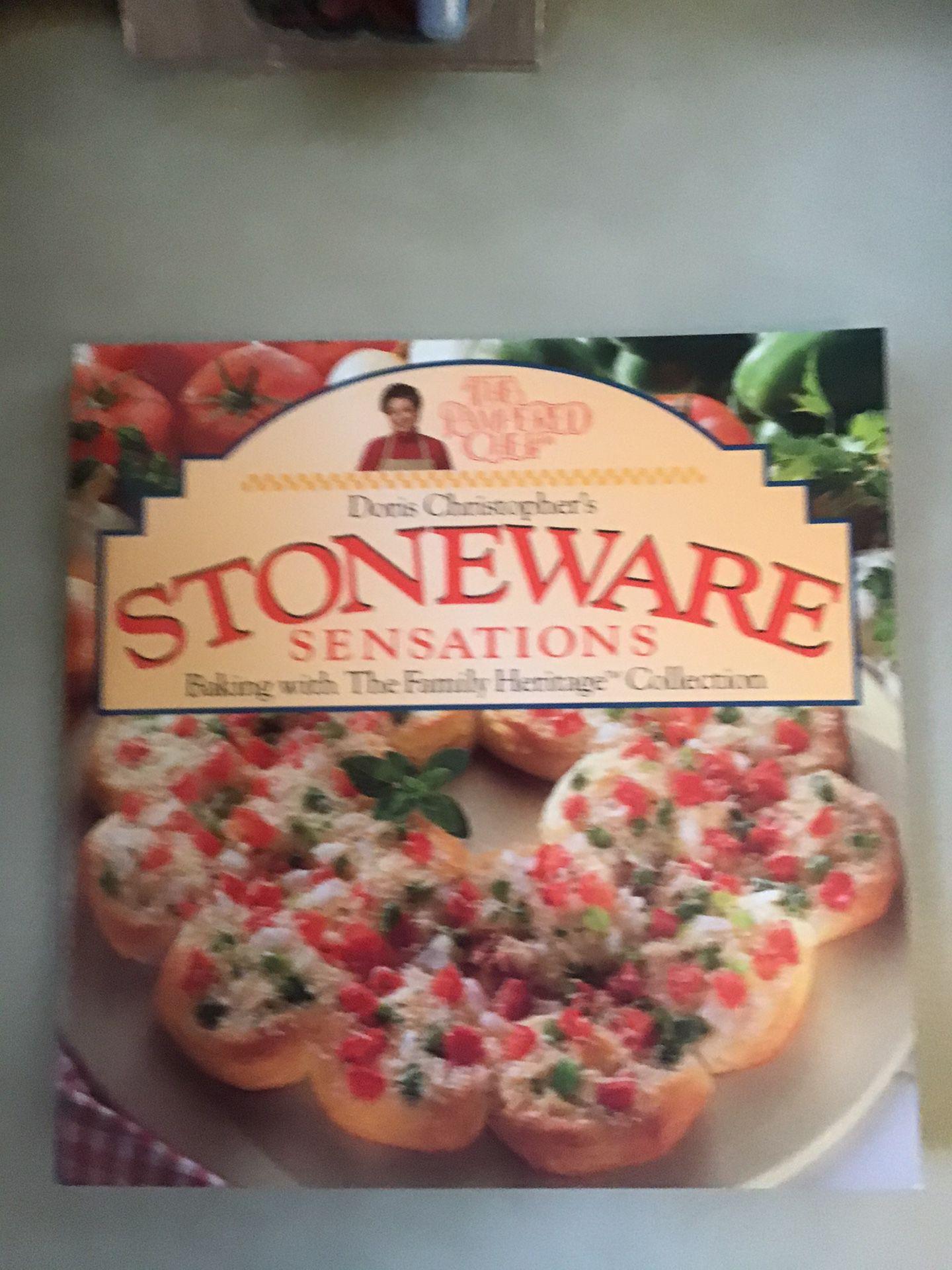 Book, Pampered Chef Stoneware Sensations