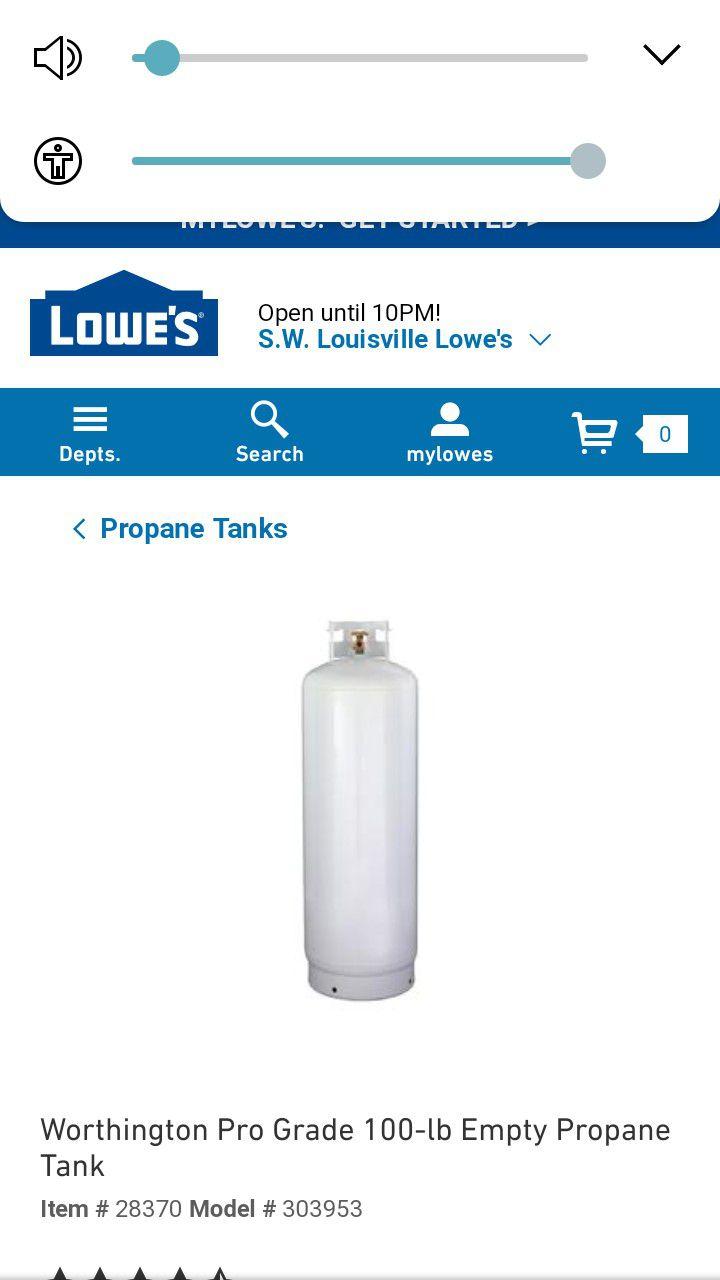 forklift tank used