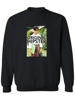 The Wonder Years The Wonder Years Paul Pfeiffer  Sweatshirt Men's -T-Line Designs Black Size 4XL Thumbnail