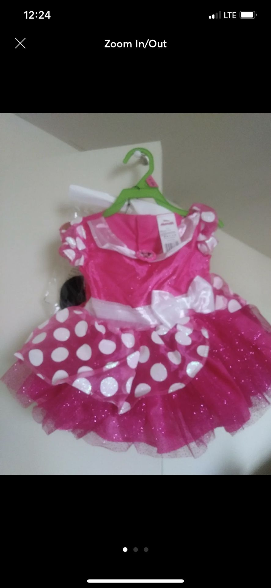 Minnie Mouse Birthday Outfit !!