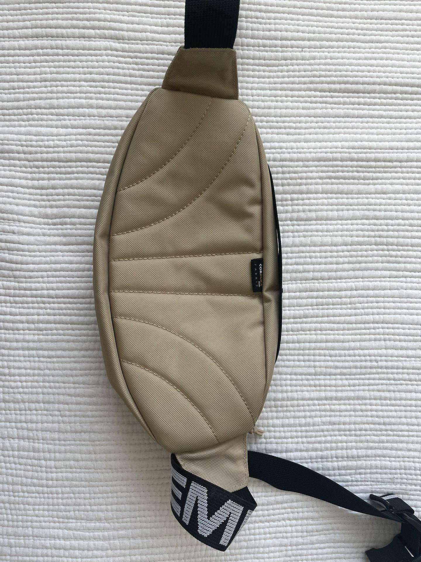Supreme Waist Bag Beige SS18