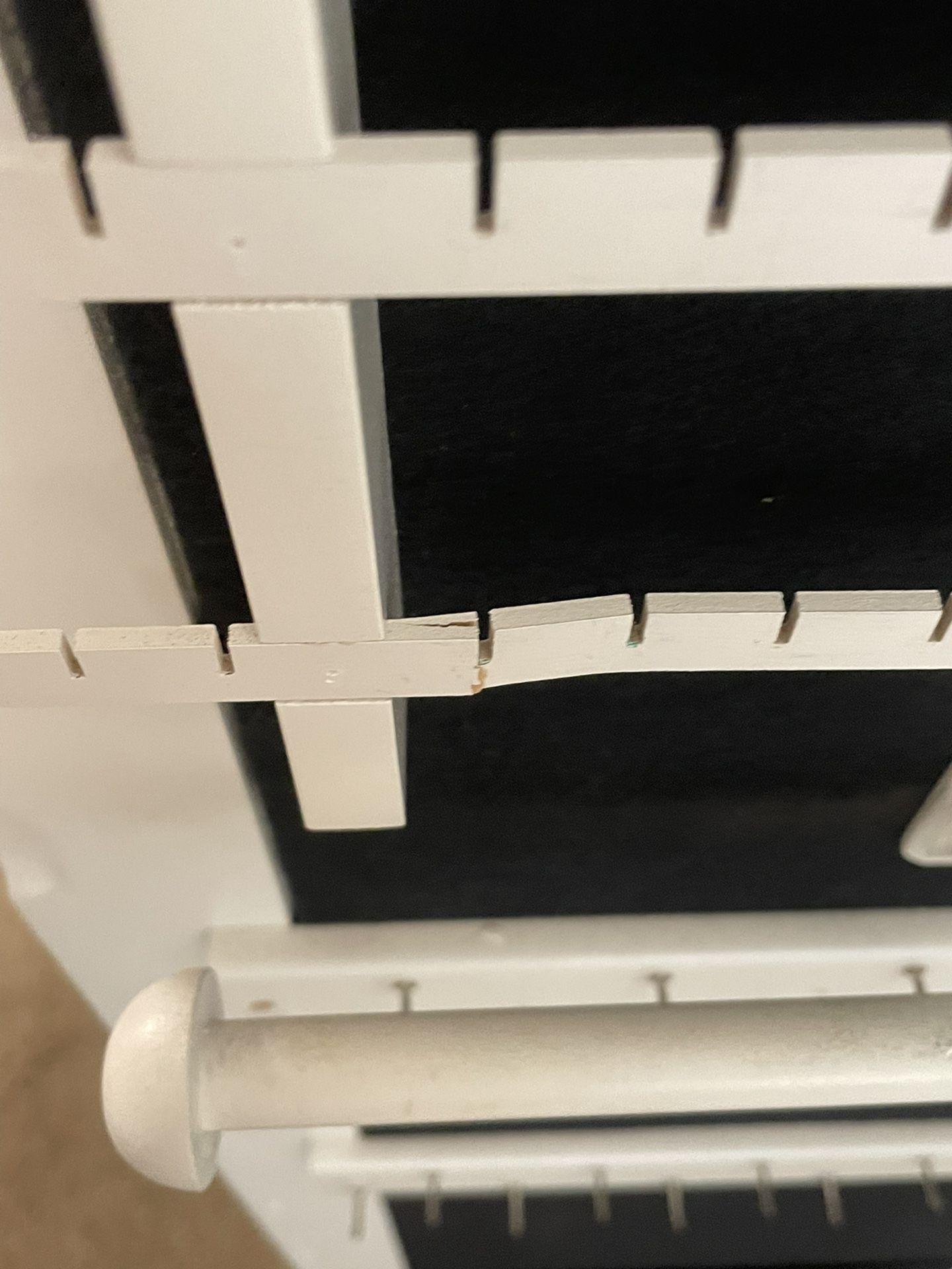Lori Greiner Wall Mounted Mirrored Jewelry Storage Case