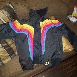 John DEERE 70's VINTAGE Ski Jacket Small W Thumbnail