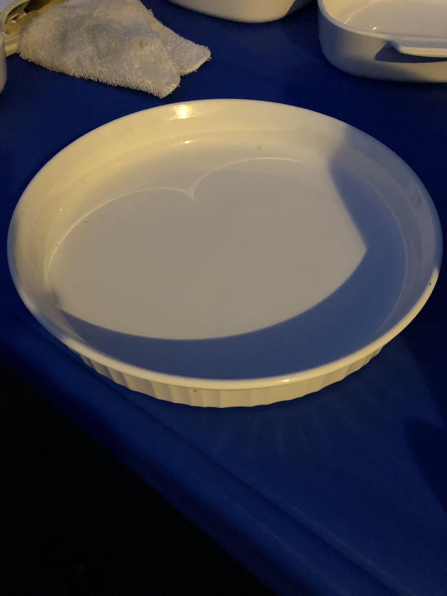 """10"""" Corningware Pie Pan"""