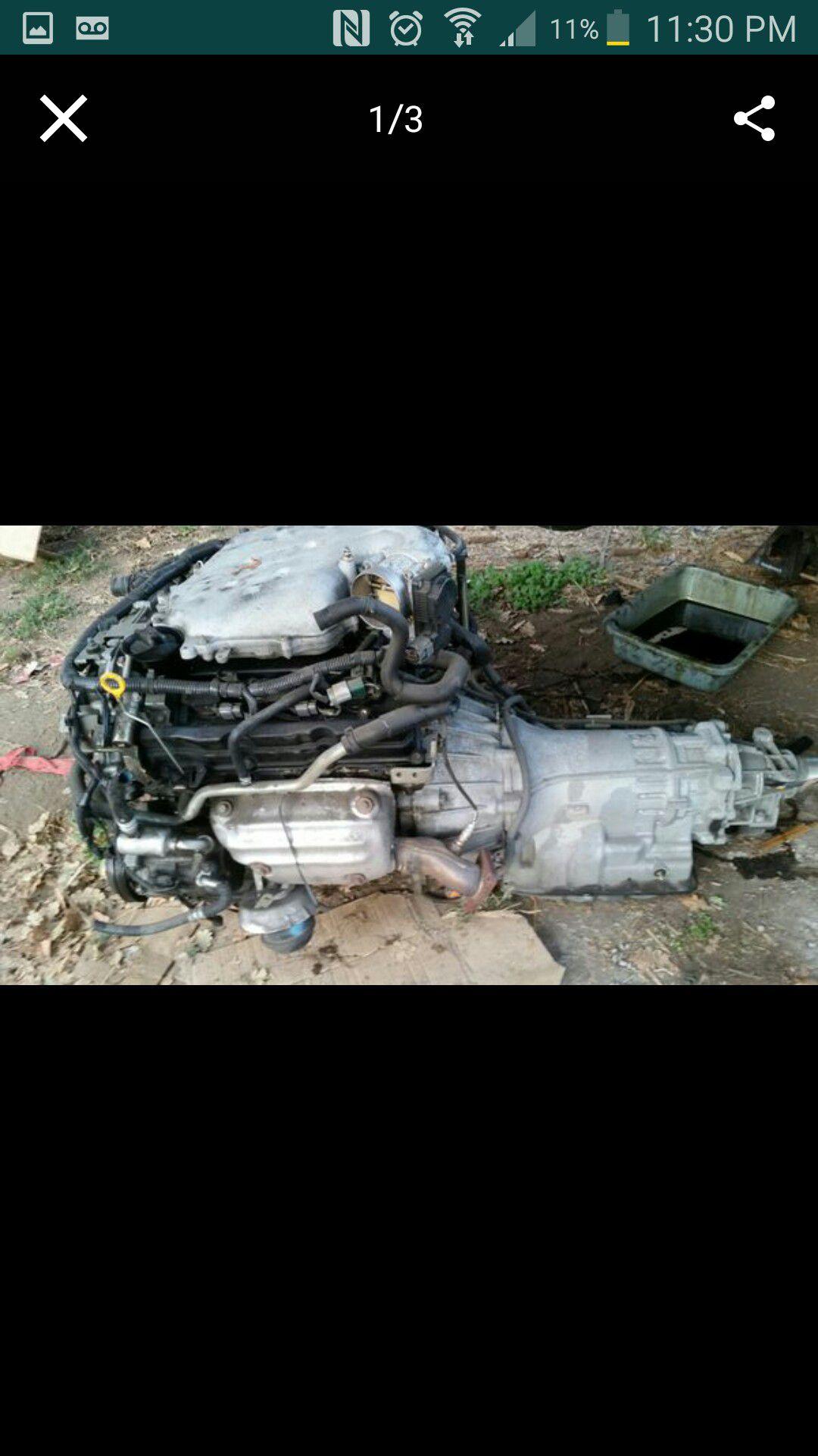 03 infiniti g35 engine and transmission