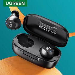 UGREEN TWS Bluetooth Earphones Headphones True Wireless Earbuds In Ear Stereo Headset Sport TWS Bluetooth 5.0 Headphone Thumbnail