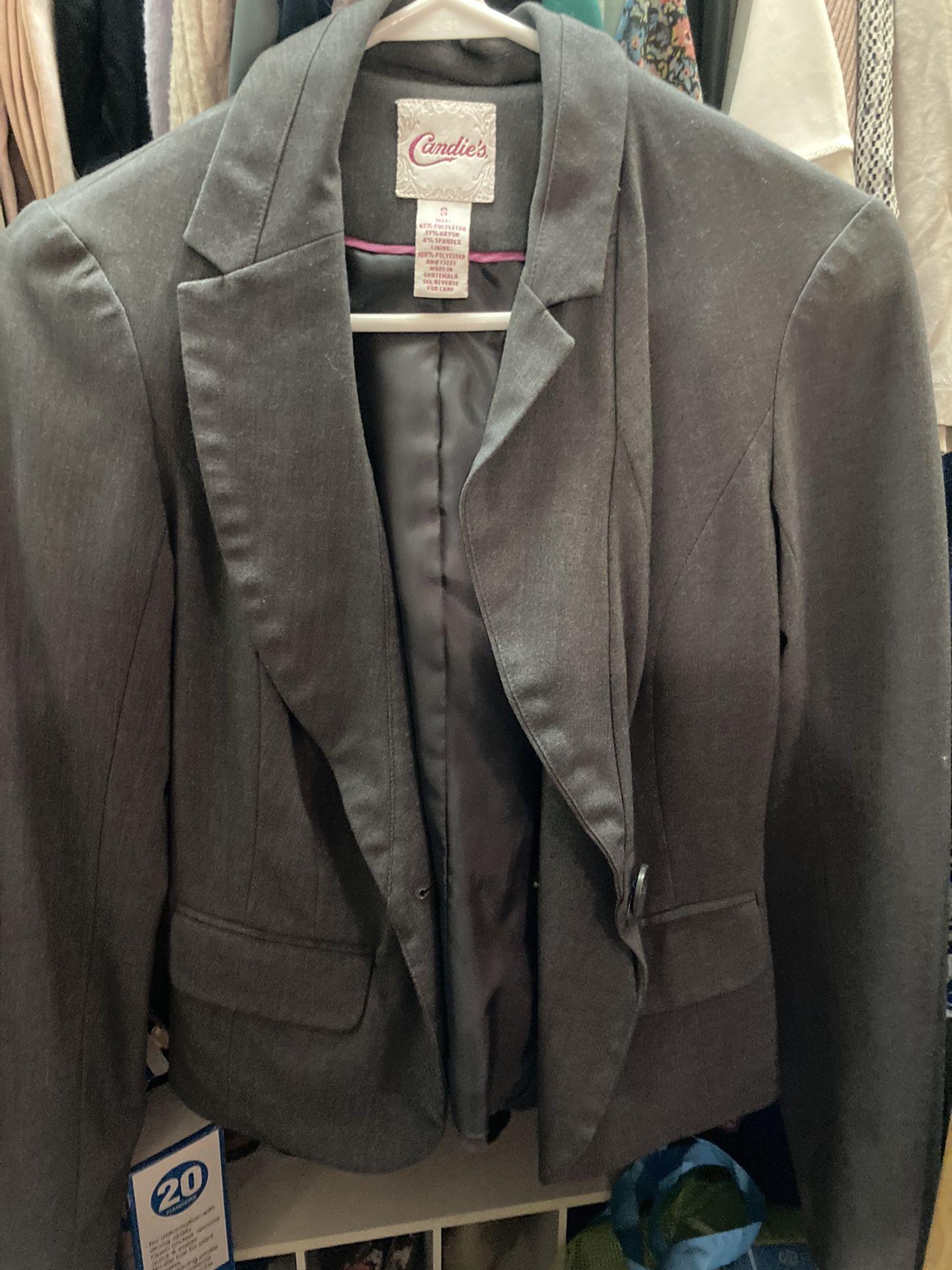 Sweatshirts, Suit Jackets, Size 12 AE Jeans, Rain Coat