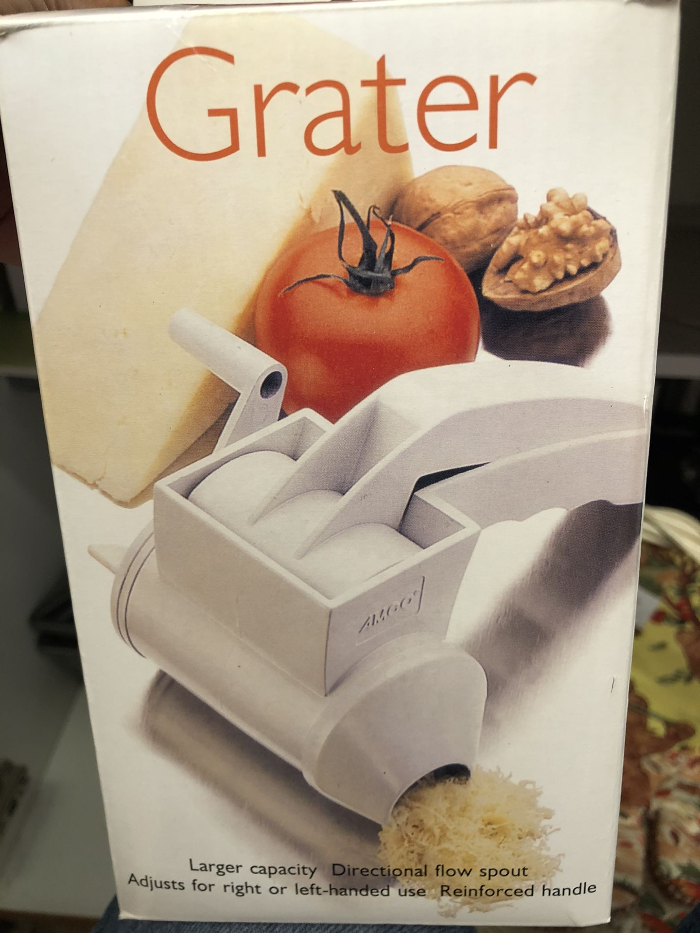 Cheese Grater - Rallador - Chocolate Grater As Well