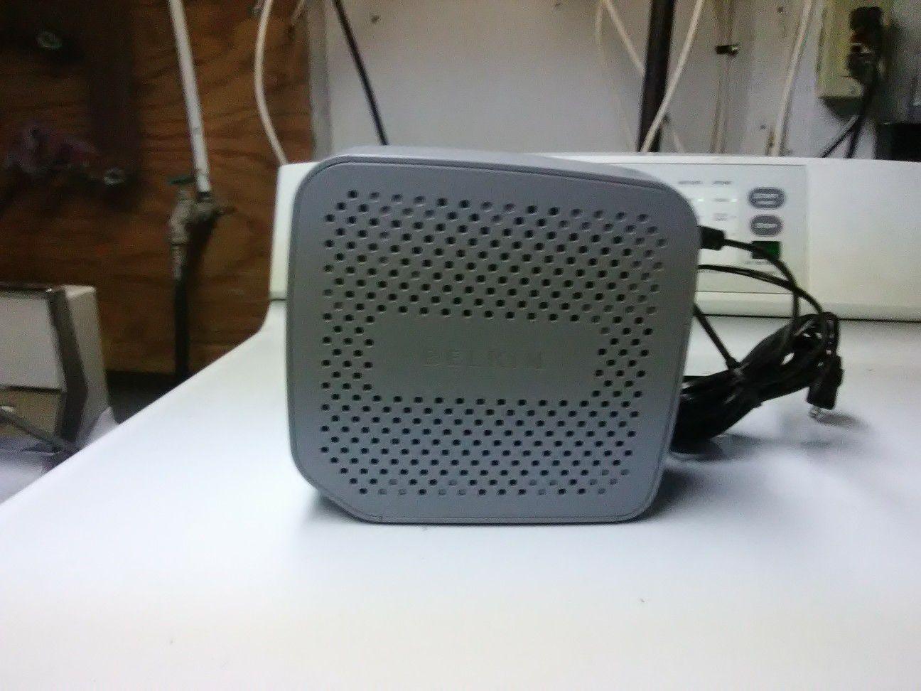Belkin batter backup router