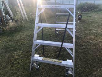 8' Wheeled A-Frame ladders  Thumbnail