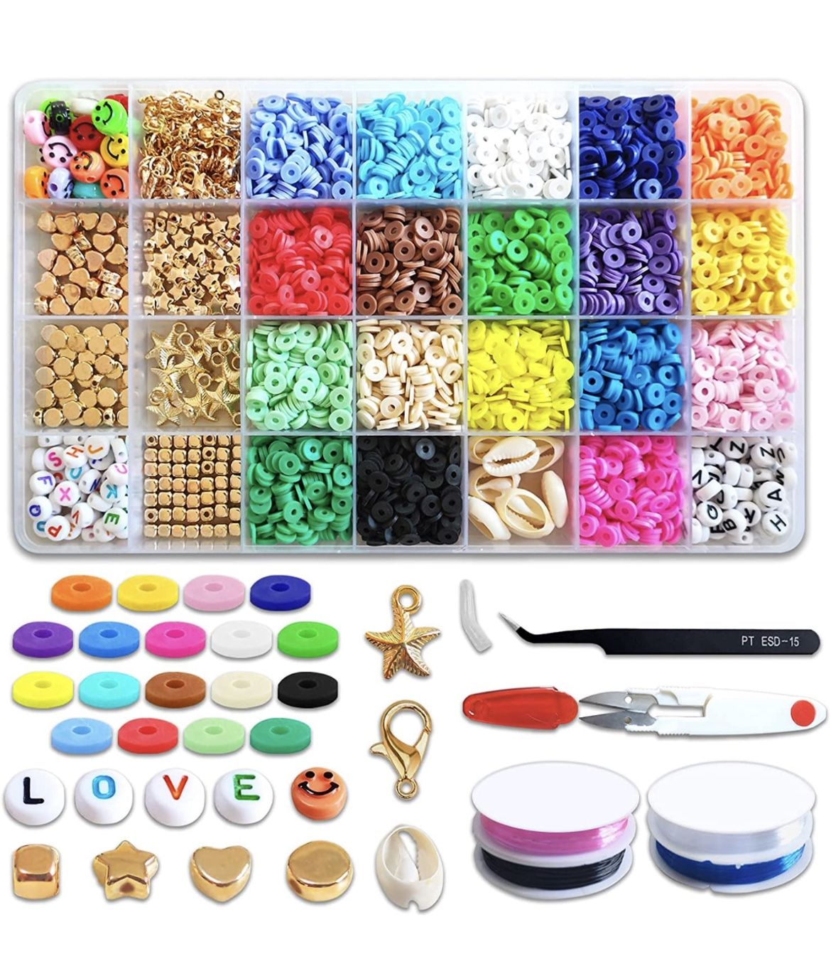 Clay Beadsfor Jewelry Making