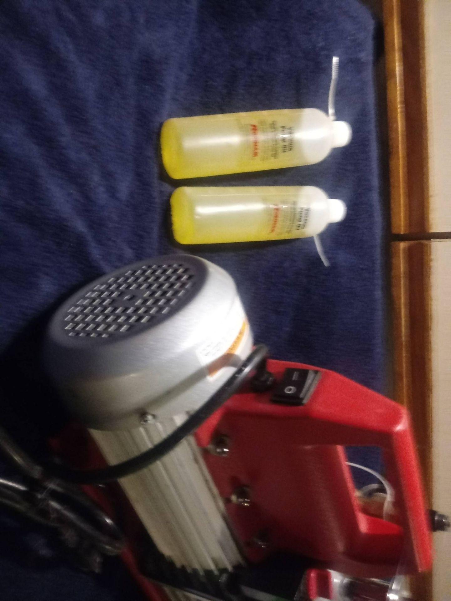 Vacuum pump 2 stage, 8cfm