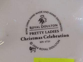 Royal Doulton Pretty Ladies Christmas Celebration 2004 Thumbnail