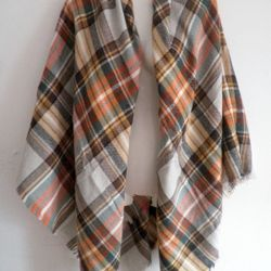 Brand New Gorgeous Warm Soft Scarf Blanket Wrap Shawl in a package  Thumbnail