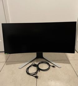 """Dell Alienware 34"""" Curved Gaming Monitor - AW3420DW Thumbnail"""