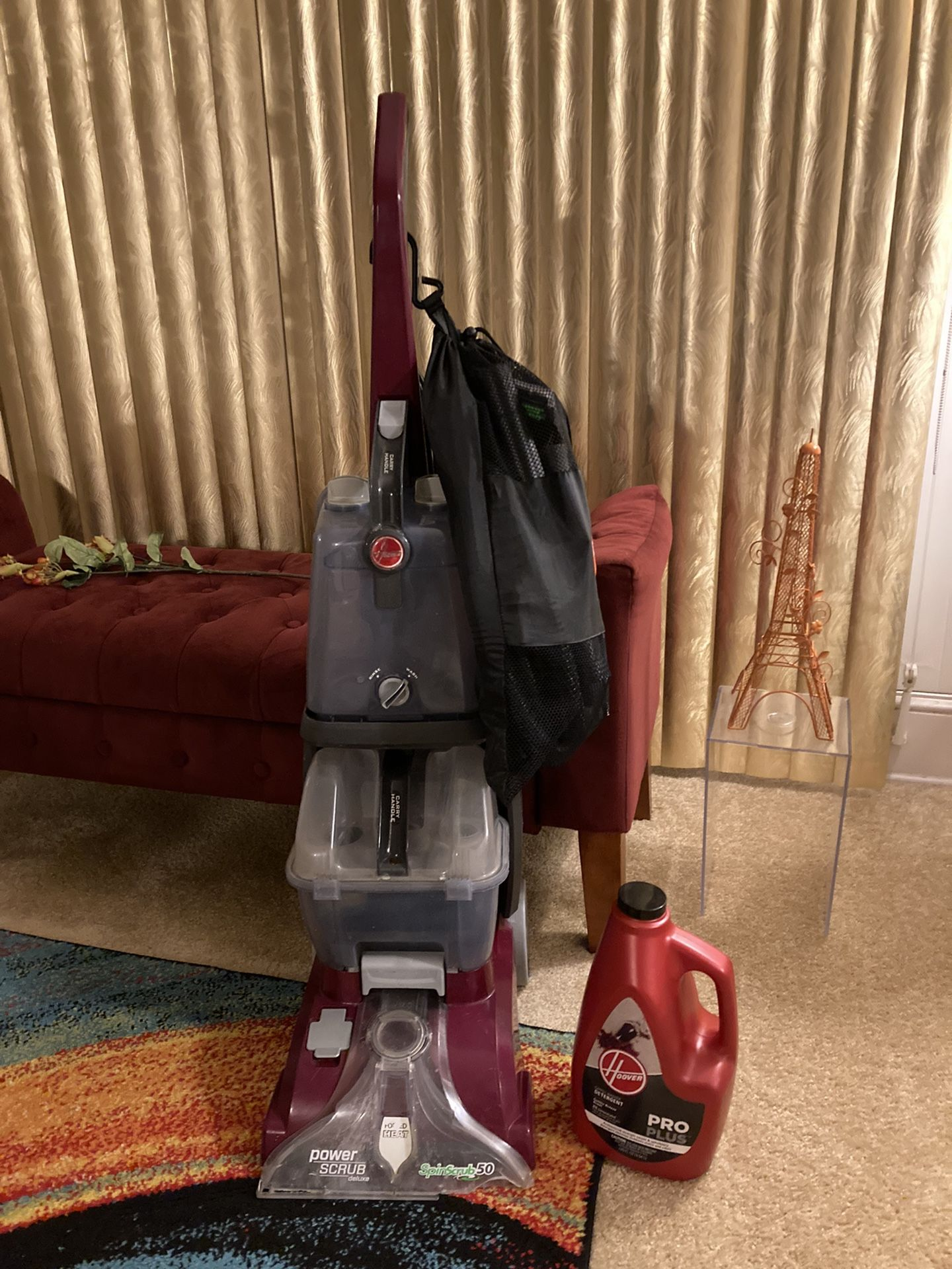 Hoover Power Scrub Deluxe Shampoo Cleaner