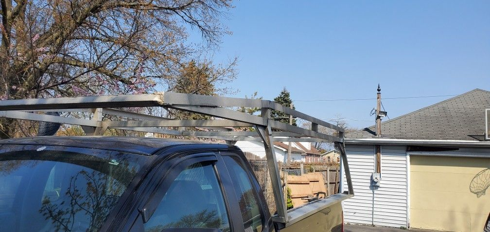 Heavy Duty Ladder Rack.