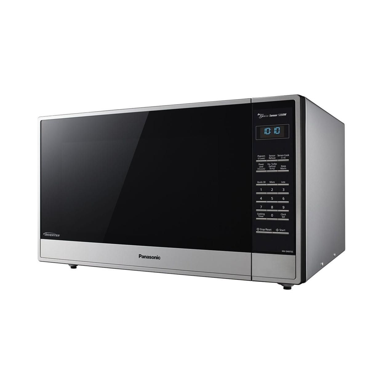 Panasonic 2.2 cu. ft. Stainless-Steel Microwave Oven with Inverter Technology