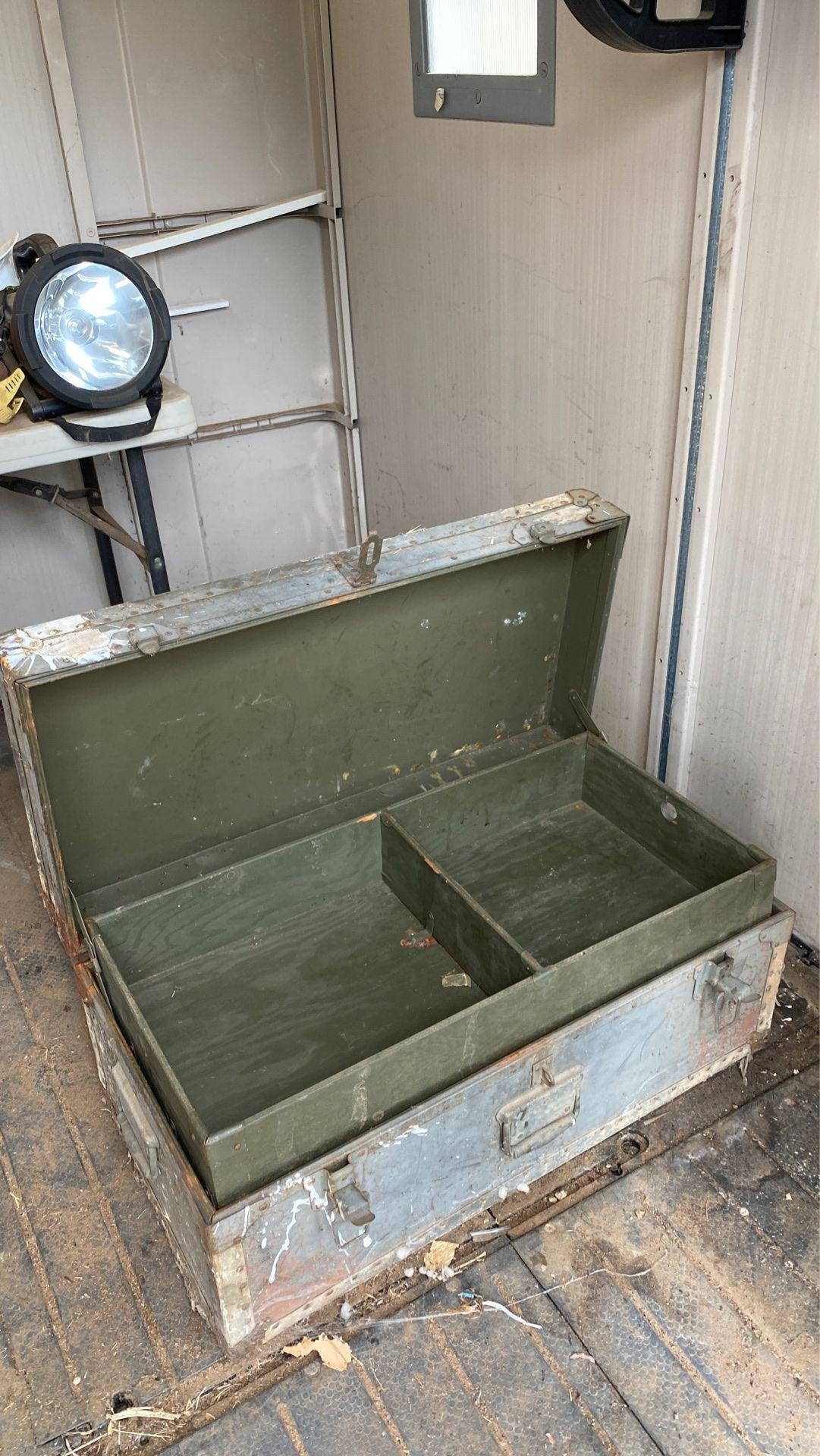 Footlocker – storage chest